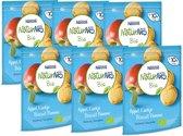 NaturNes® Bio Appel koekje 10+ mnd baby koekjes biologisch - 6 stuks