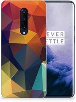 TPU Hoesje OnePlus 7 Pro Polygon Color
