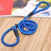Nylon Trainingslijn Voor Honden - Hondenriem - Blauw - Tot 5 kg