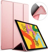 iPad 2019 Hoes - 10.2 inch - Smart Book Case Hoesje - Roségoud
