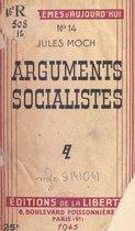 Arguments socialistes
