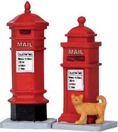Lemax Kerstdecoratie Lemax - Victorian Mailboxes, Set Of 2
