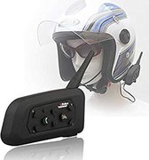 1 modules v6 motor intercom bluetooth headset interphone communicatie systeem voor 1 persoon