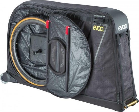 BIKE TRAVEL BAG PRO / BLACK / 280L