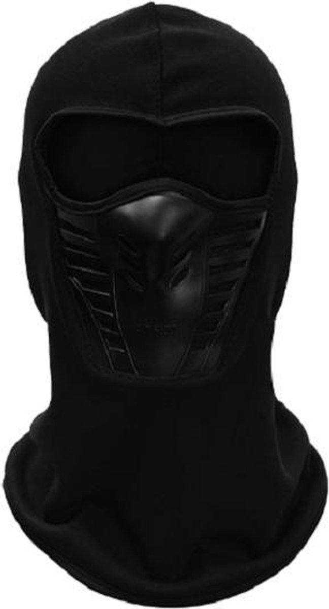 Bivakmuts - balaclava - Bivak - Motor Gezichtsmasker - Ski Masker - Muts - Zwart - heren en dames