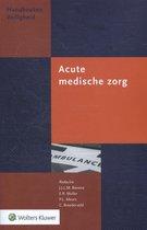 Handboeken Veiligheid  -   Acute medische zorg