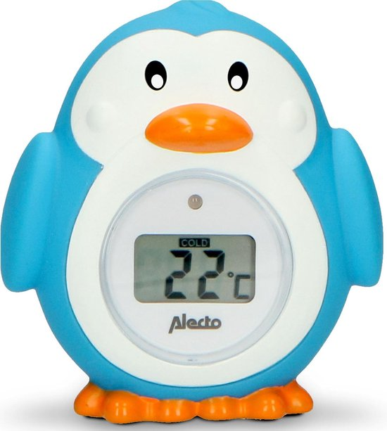 Alecto Baby BC-11 Thermometer pinguin - meting badwatertemperatuur