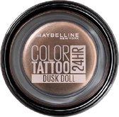 Maybelline Eye Studio Color Tattoo 24H Cream Oogschaduw - 240 Dusk Doll - Bruin