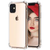 Apple iPhone 11 Hoesje - Anti Shock Hybrid Case - Transparant