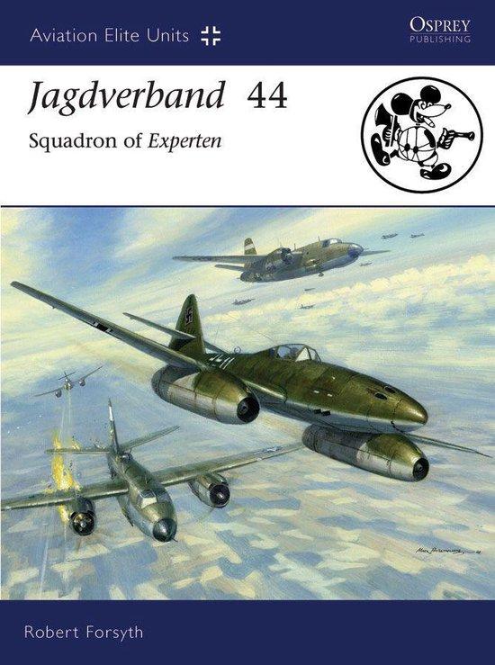 Boek cover Jagdverband 44 van Robert Forsyth (Onbekend)