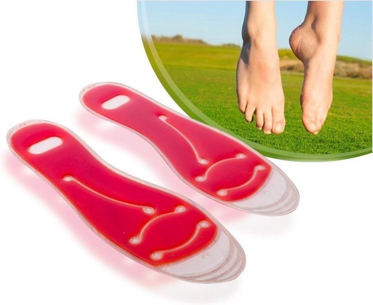 Comfort Gel Inlegzolen - Gelzolen Inlegzooltjes - Maat 40/41/42/43/44 Gelzooltjes Zolen - Sport Schoenen Zooltjes - Heren / Man -