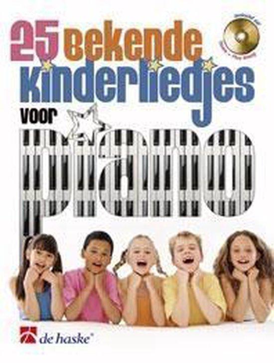 25 bekende kinderliedjes voor piano - De Haske | Fthsonline.com