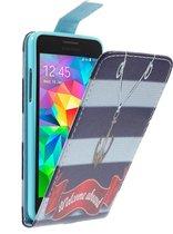 Anchor Flip hoesje Samsung Grand Prime SM-G530H