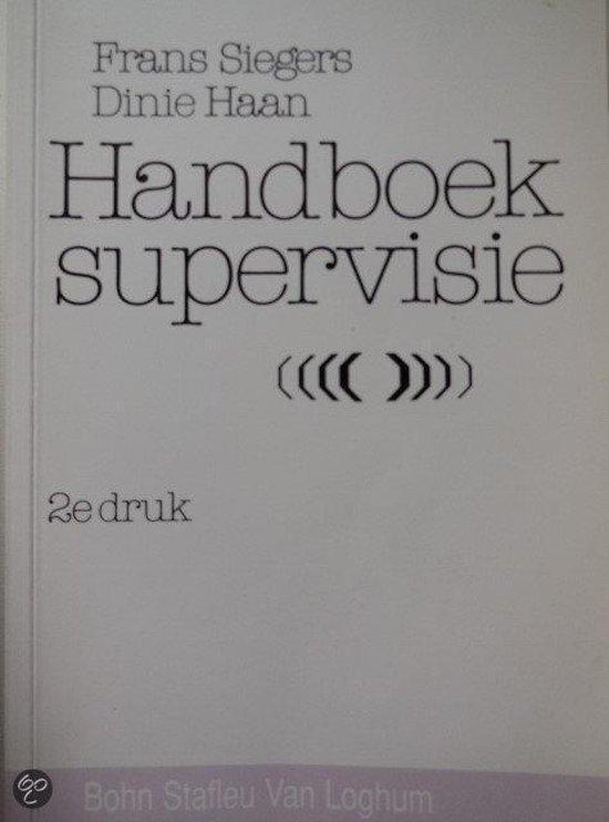 HANDBOEK SUPERVISIEKUNDE - Siegers |