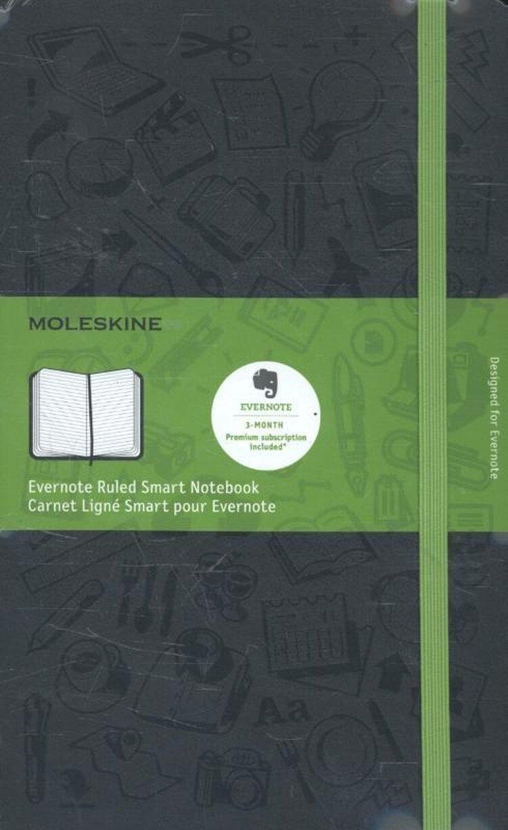 Bol Com Evernote Large Ruled Smart Notebook Moleskine 8051272892468 Boeken