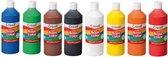 Plakkaatverf Basic waterbasis 8 kleuren 500ml