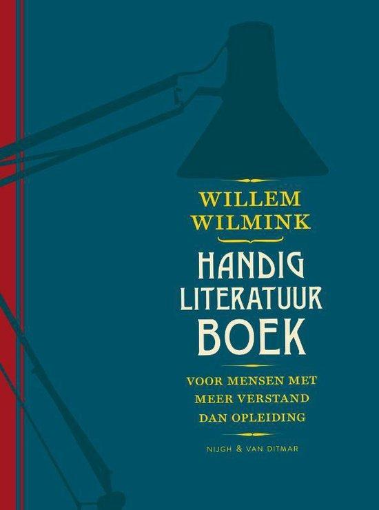 Boek cover Handig literatuurboek van Willem Wilmink (Hardcover)