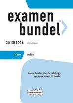 Examenbundel Havo; M&o; 2015/2016