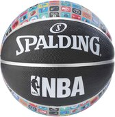 Spalding basketbal NBA Icons - Basketbal - Zwart/Grijs - Maat 7