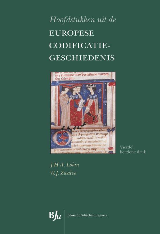 Afbeelding van Hoofdstukken uit de Europese codificatiegeschiedenis