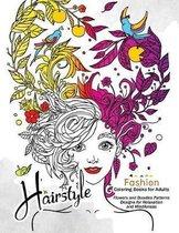 Hairstlye Fashion Coloring Books