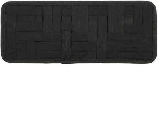 Organizer voor zonneklep zwart 35 x 14 cm