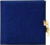 GOLDBUCH GOL-44708 dagboek SUMMERTIME blauw met slot
