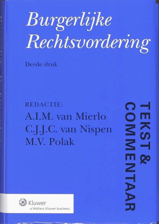 Burgerlijke Rechtsvordering - nvt pdf epub