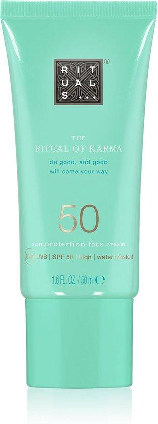 RITUALS The Ritual of Karma Sun Protection Face Cream SPF 50, zonnecrème voor het gezicht SPF 50, 50 ml