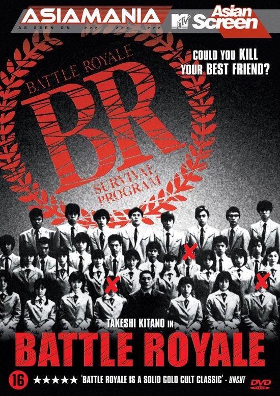 Cover van de film 'Battle Royale'
