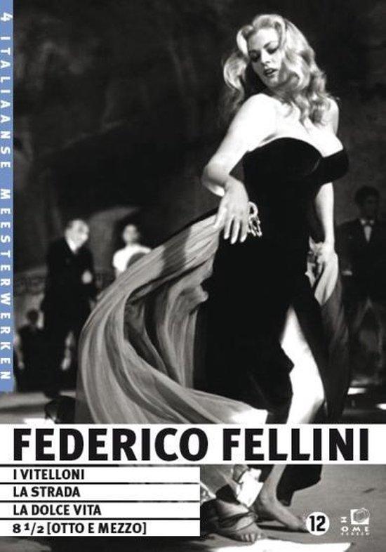 Cover van de film 'Federico Fellini Box'