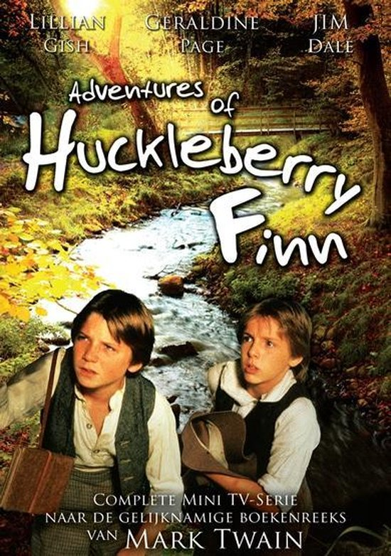 Cover van de film 'Adventures Of Huckleberry Finn'