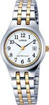Lorus RH787AX9 horloge dames - zilver en goud - edelstaal