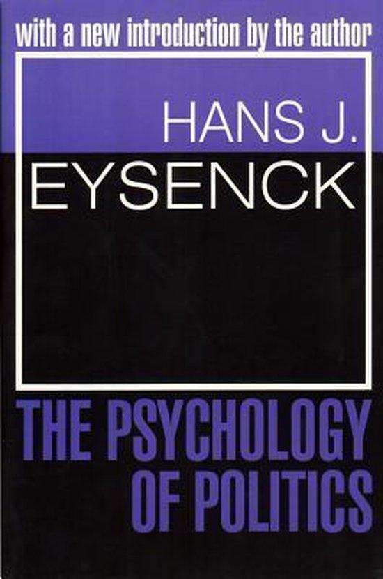 Boek cover The Psychology of Politics van Hans J. Eysenck (Paperback)