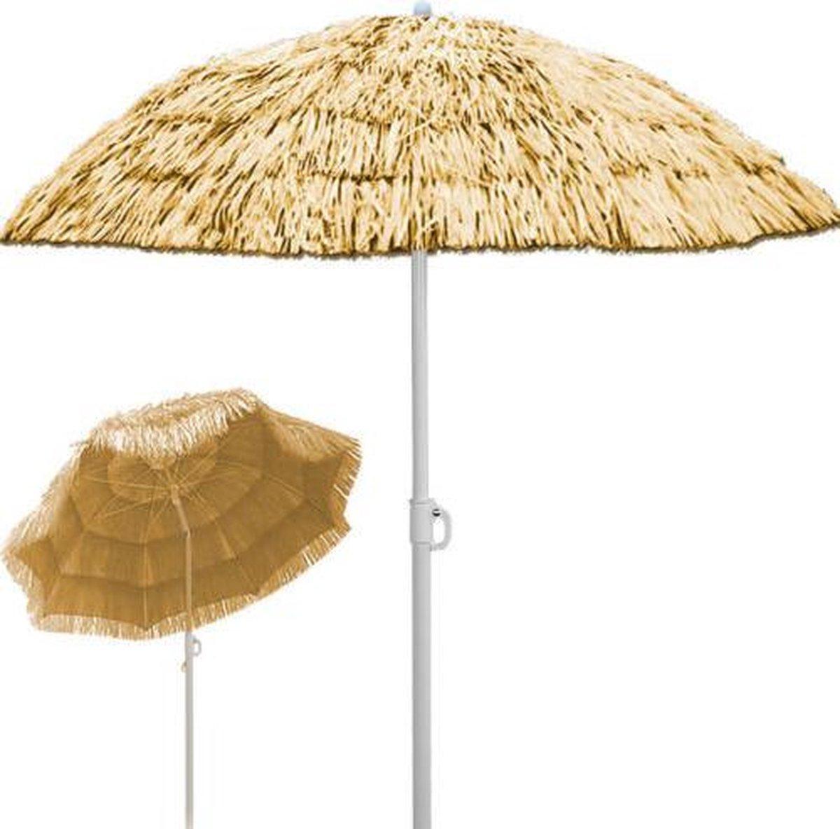 """""""Parasol, zonnescherm, """"""""Hawai"""""""", Naturel"""""""