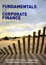 Boek cover Fundamentals of Corporate Finance van David Hillier (Paperback)
