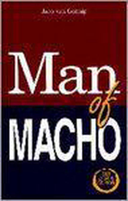 MAN OF MACHO (+ CD) - Joop van Gennip |
