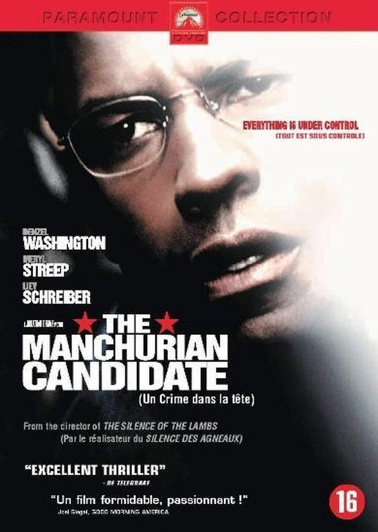 Cover van de film 'Manchurian Candidate'