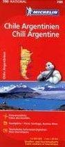 Michelin Nationalkarte Chile Argentinien 1 : 2 000 000