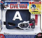 Marvel Captain America Civil War - Captain America Scope Vision - Helm