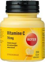 Roter Vitamine C 70 mg Voedingssupplement - 200 Kauwtabletten