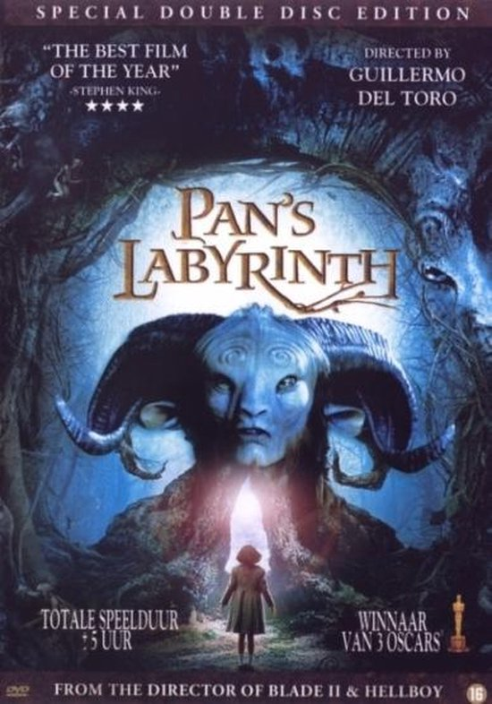 Cover van de film 'Pan's Labyrinth'