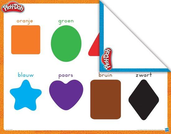 Play-Doh Kleuren & Vormen - Klei Speelset - Play-Doh