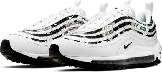 Nike Air Max 97  Sneakers - Maat 38 - Unisex - wit/zwart