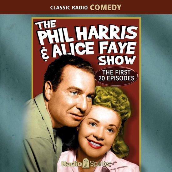 Boek cover Phil Harris-Alice Faye van  (Onbekend)