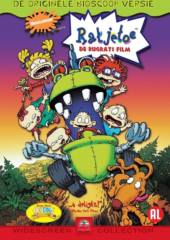 Cover van de film 'Rugrats'
