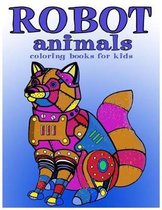 Robot animals Coloring Books for Kids