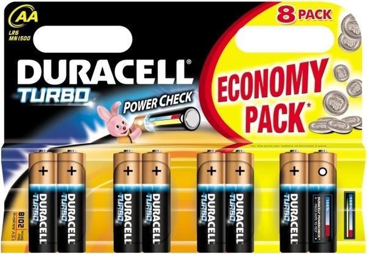 Duracell Batterijen Duralock Lr6 Aa 8 Stuks - Duracell