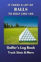 Golfer's Log Book