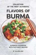 Collection of The Most Authentic Flavors of Burma